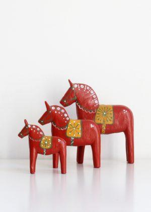 Schwedische Pferde