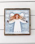 schilderij kinderkamer engel