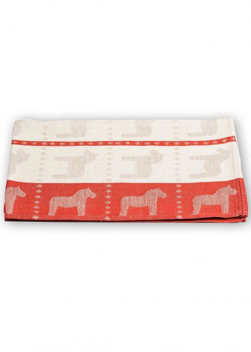 tea towel dala horse