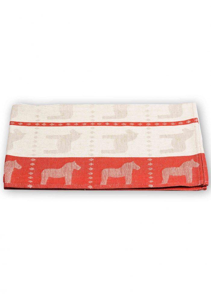 tea towel dala horse