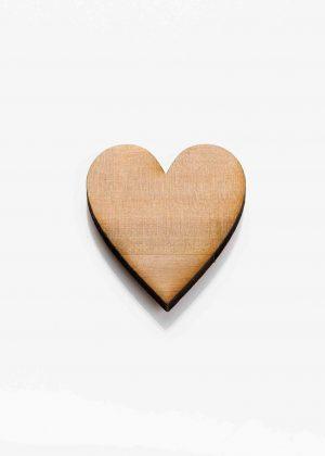 houten hartje