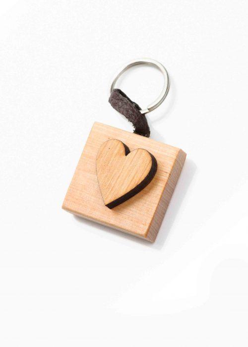 Keychain heart