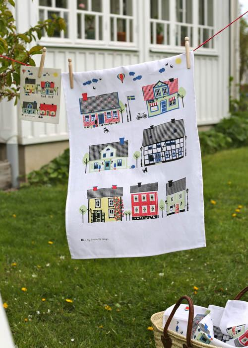 Tea towel Sweden