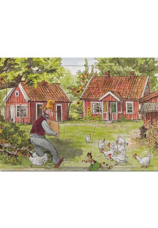 Pettson Findus Puzzel Boerderij