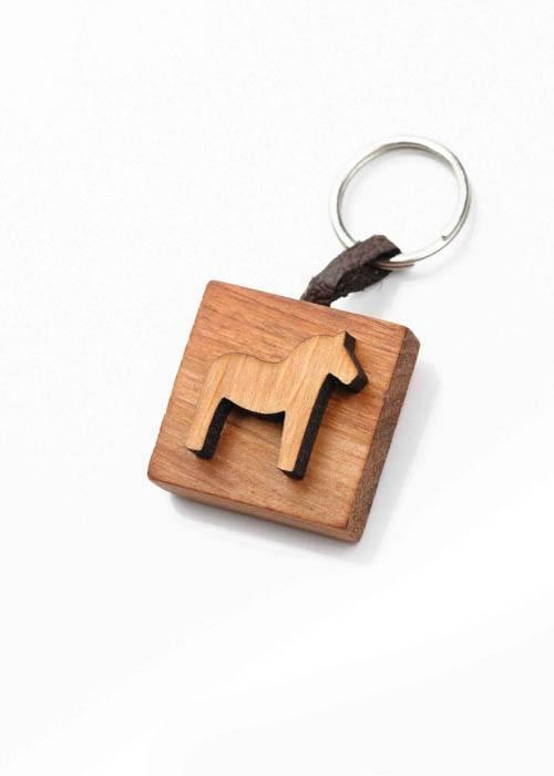 Dala hästnyckelring