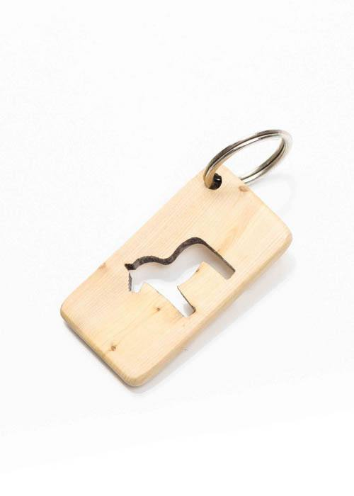 dala horse key ring