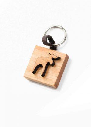 Keychain moose