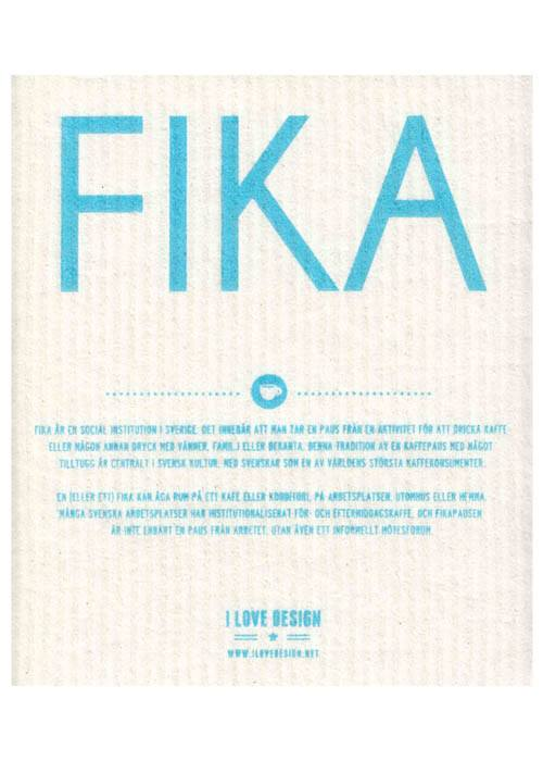 Dishcloth Fika