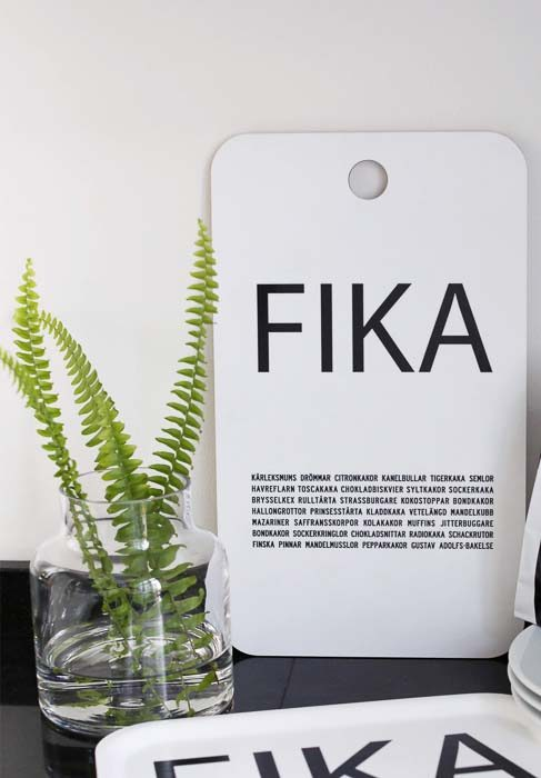Cutting board fika