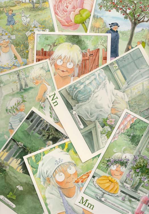 Letter cards Maja