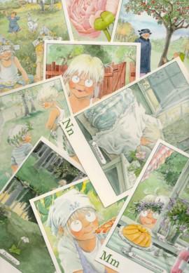 Letterkaartjes-Maja-pakket