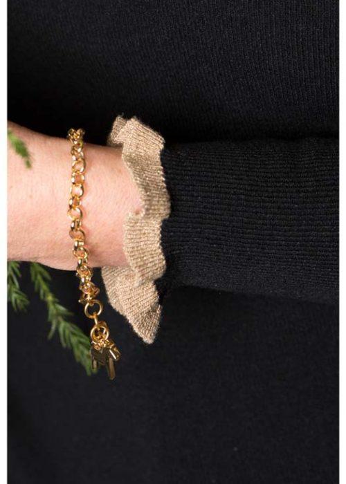 paarden armband goud