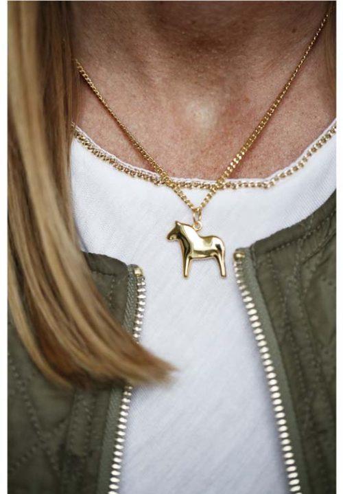 paarden ketting goud