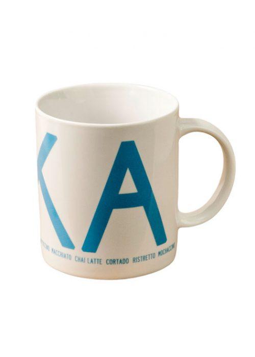 Fika mug turquoise