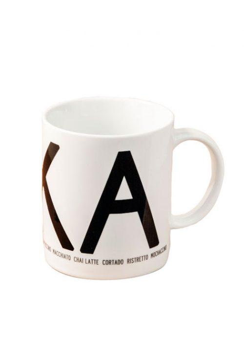 Fika mug black