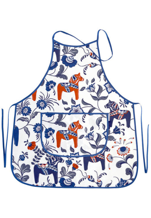 Kitchen apron dala pair white