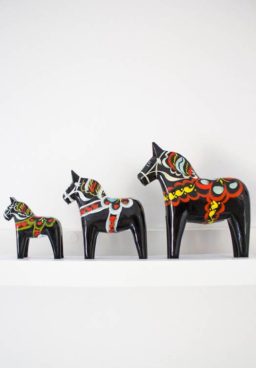 Zwart dala paard kopen