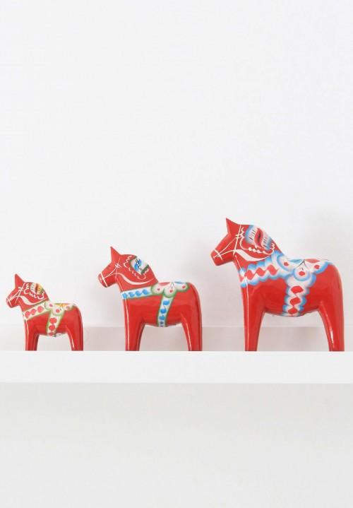 Dala paard rood