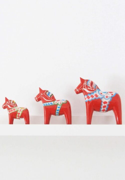 Red dala horse for sale