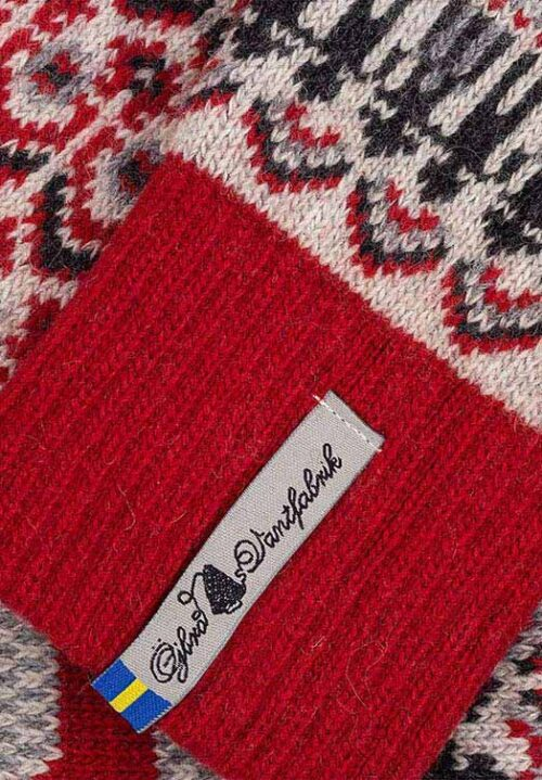 Woolen stockings with Dala horse from Sweden