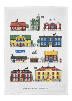Houses of Sweden Keukenhanddoek