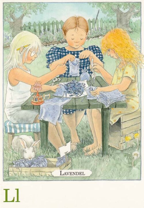 Letterkaartje Maja Lena Anderson L