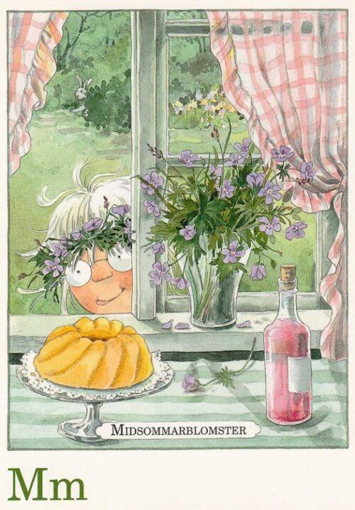 Letterkaartje Maja Lena Anderson M