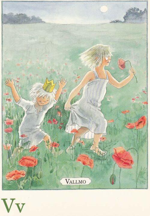 Letterkaartje Maja Lena Anderson V