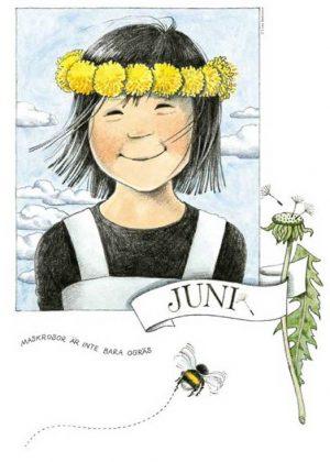 Maandposter Linnea Lena Anderson - juni