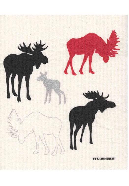 Eland vaatdoek rood