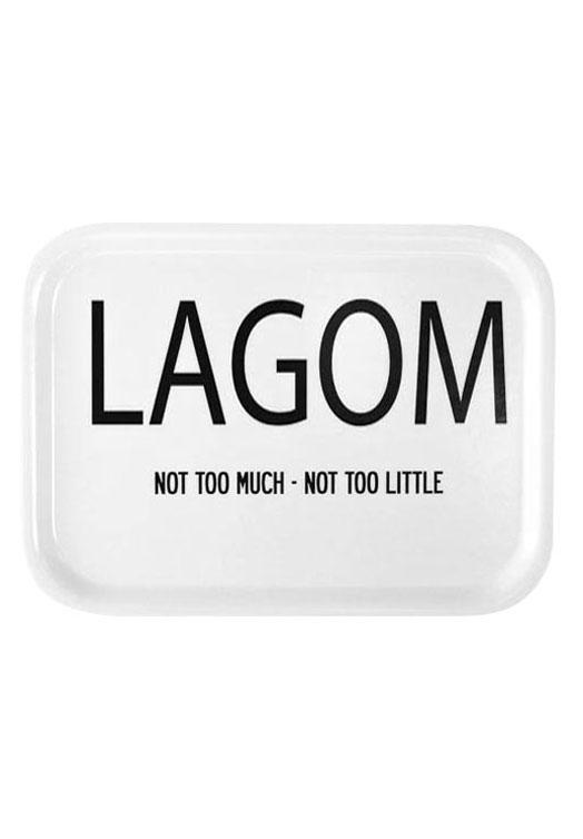 Lagom Tablett weiß