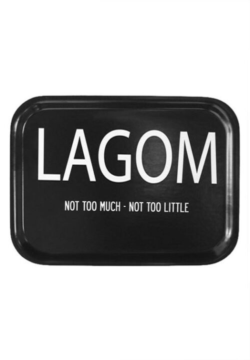Lagom tray black