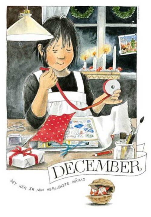 Linnea's Maandkaart December Lena Anderson