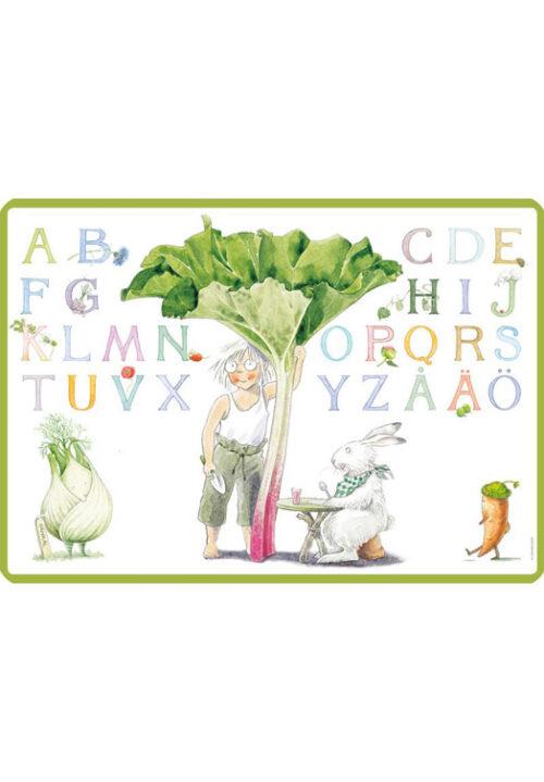 Majas alfabet placemat