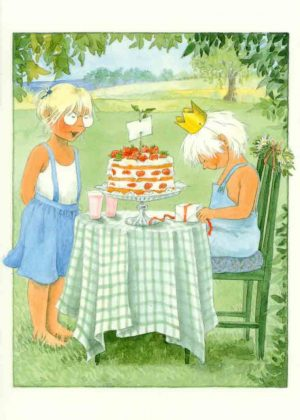 Maja's minikaart aardbeien
