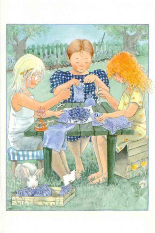 Maja's minikaart lavendel