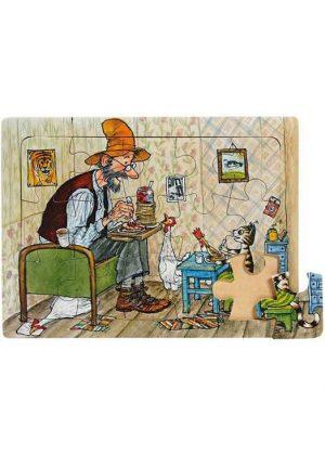 Pettson Findus Puzzel Findus eet