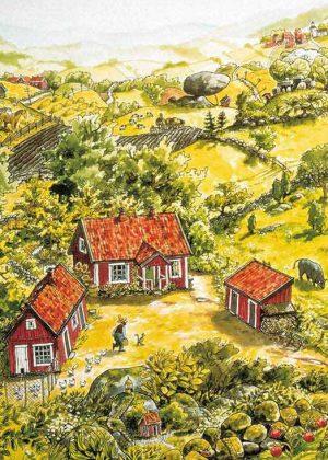 Pettson Findus boerderij poster