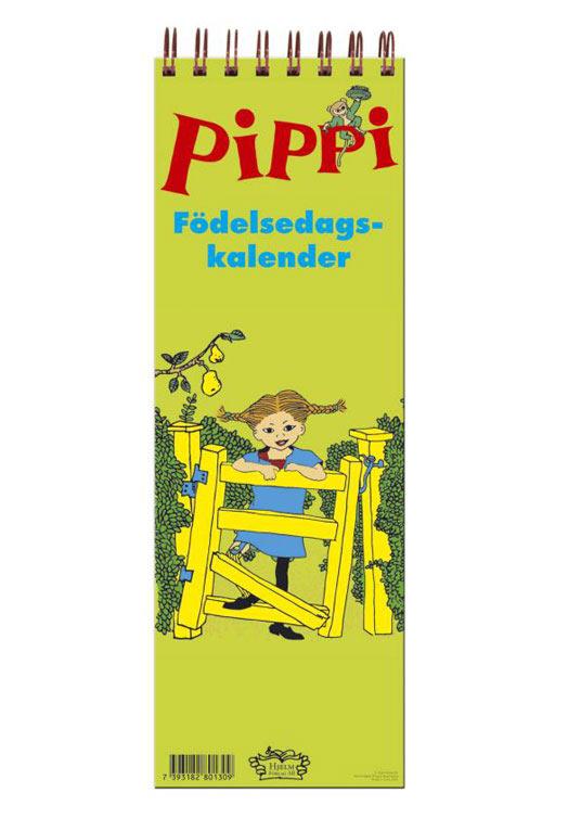 Pippi Långstrump Födelsedagskalender