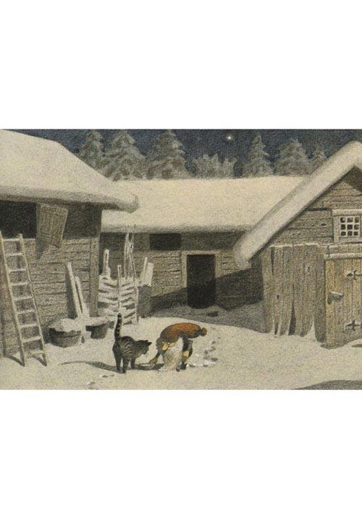 Zweedse kerstkaarten Lille Viggs