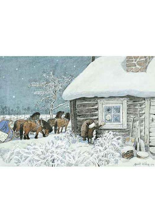 Kerstkaarten Zweden