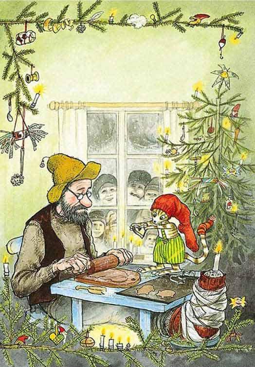 Swedish Christmas cards