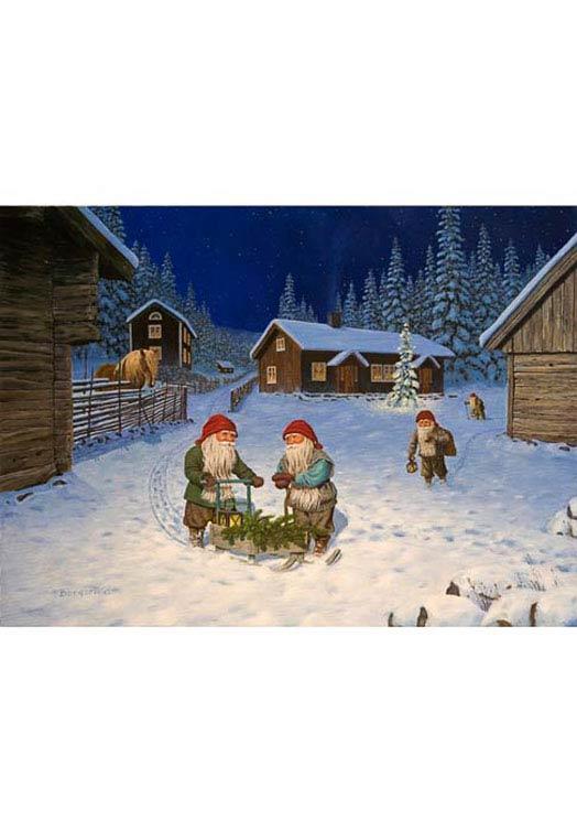 Zweedse kerstkaartjes 15 | The Swedish Gift Shop