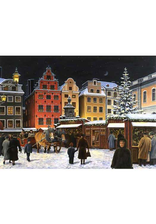 Zweedse kerstkaartjes 20 | The Swedish Gift Shop