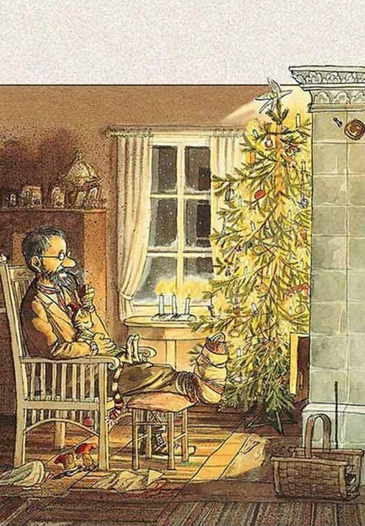 Svenska julkort